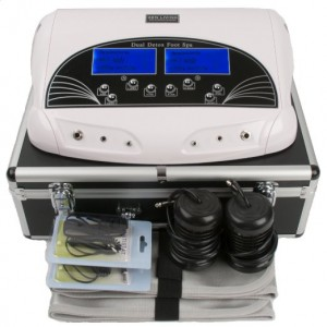 1.1 PROFESSIONAL DUAL LCD IONIC CELL DETOX FOOT CLEANSE BATH SPA MACHINE