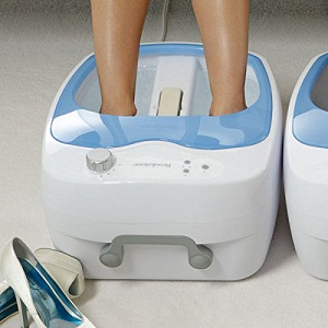 1.Foot Baths - heated foot bath
