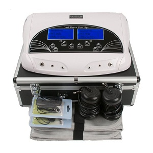 3.PROFESSIONAL DUAL LCD IONIC CELL DETOX FOOT CLEANSE BATH SPA MACHINE