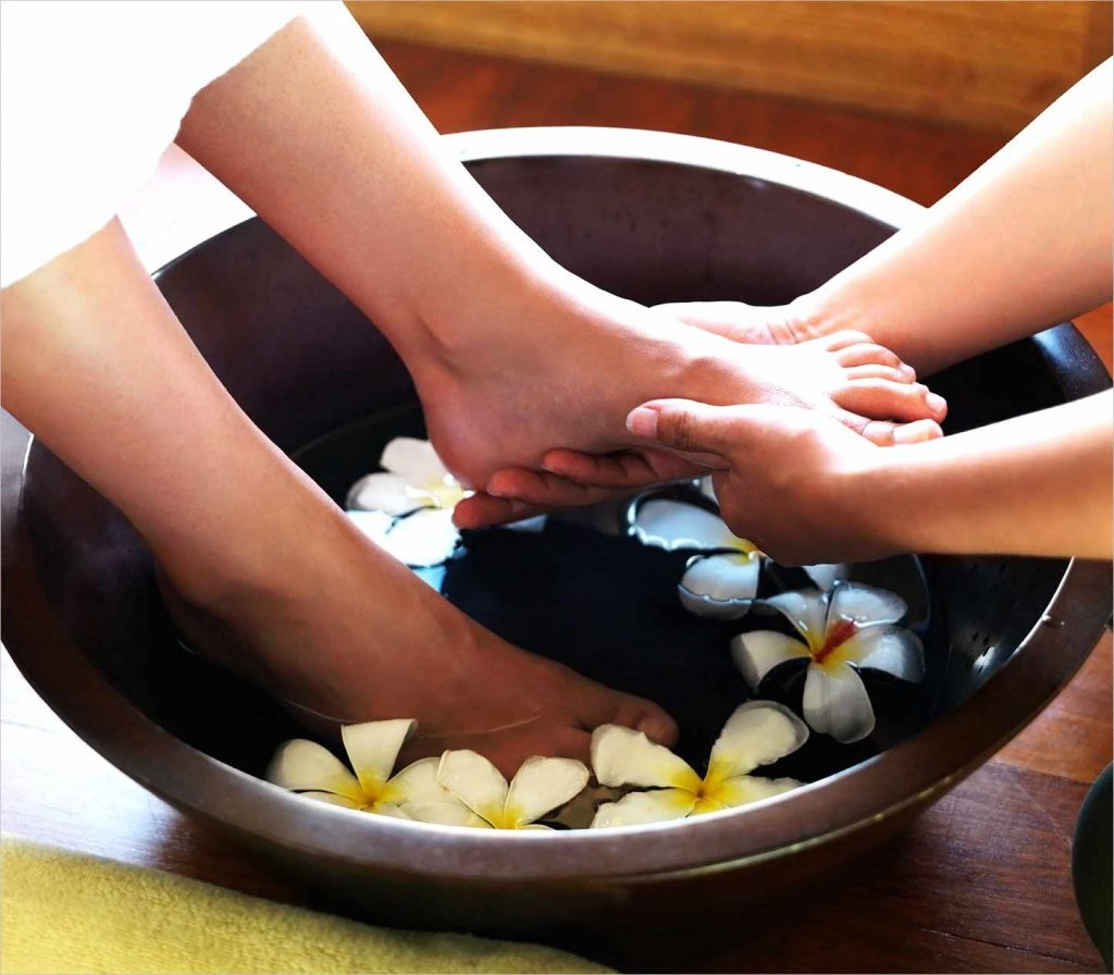 1.Foot massager or foot spa