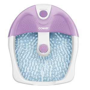 3.Conair Foot Spa with Vibration and Heat